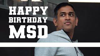 Happy BIRTHDAY MSD   #AakashVani