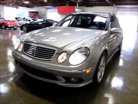 2006 mercedes benz e55 amg wagon for sale youtube. Black Bedroom Furniture Sets. Home Design Ideas