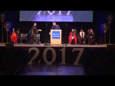 College of Engineering Spring 2017 Graduation - pt 1
