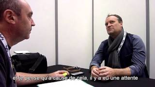Interview David Hewlett - SCIFI-MOVIES - TGS 2015