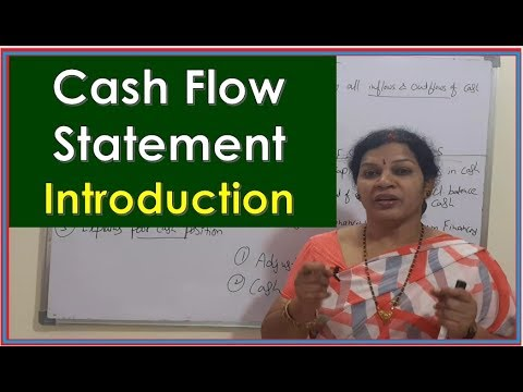 """Cash Flow Statement - Introduction"" By Dr.Devika Bhatnagar thumbnail"
