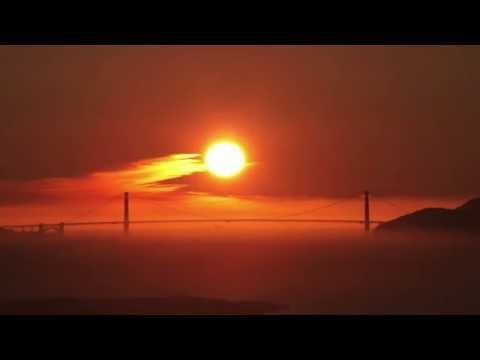 Golden Gate Sunset: Green Flash