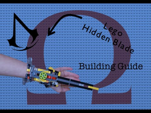 Lego Hidden Blade Instructions Youtube