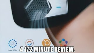 4 1/2 Minute Review of Air Purifier Mask