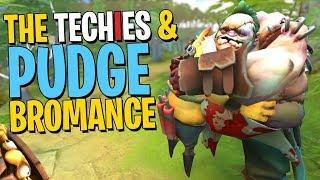 The Techies & Pudge Bromance - DotA 2