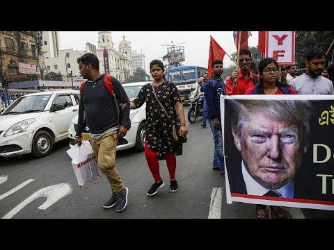 مظاهرات في الهند احتجاجاً على زيارة الرئيس الأمريكي دونالد ترامب…  - نشر قبل 8 ساعة