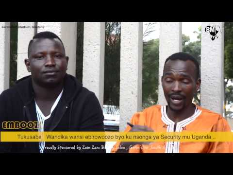 Emboozi : Ebituli mu Government Ne Security Ya Uganda