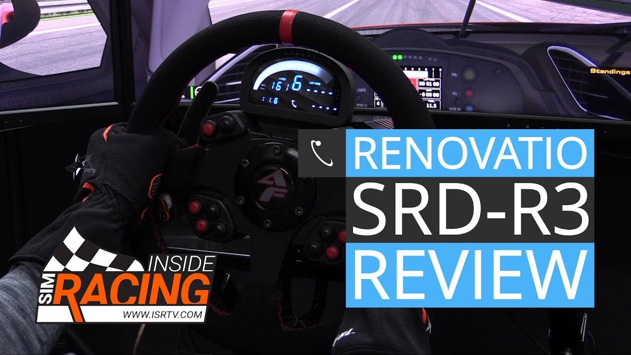Renovatio SRD-R3 Digital Data Display Review - Inside Sim Racing
