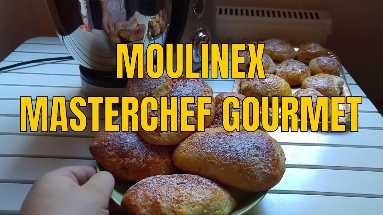 Moulinex qa603h robot da cucina masterchef gourmet panoramica e ricetta maritozzi youtube - Robot da cucina moulinex ...