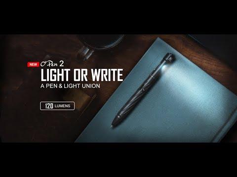 Senter Pena Olight Open 2 120 lumens