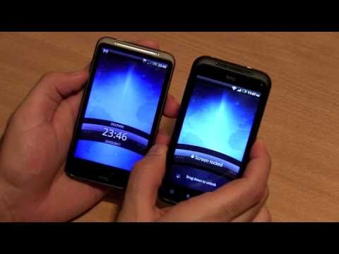 Htc Incredible S Unboxing First Look and Comparison with Desire HD