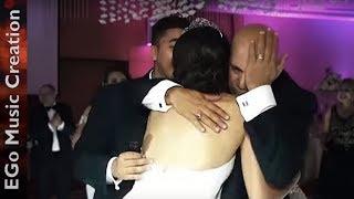 تأثر الاب عائلة سويدية بتغنى عربى مكسر 3 دقات مفاجأة للعروسة بكلمات خاصة EGo Music Creation