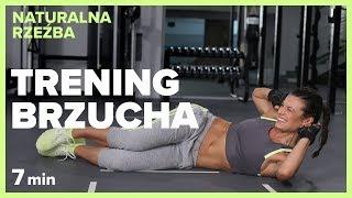 TRENING BRZUCHA - 7 min | NATURALNA RZEŹBA | Szymon Gaś & Katarzyna Kępka