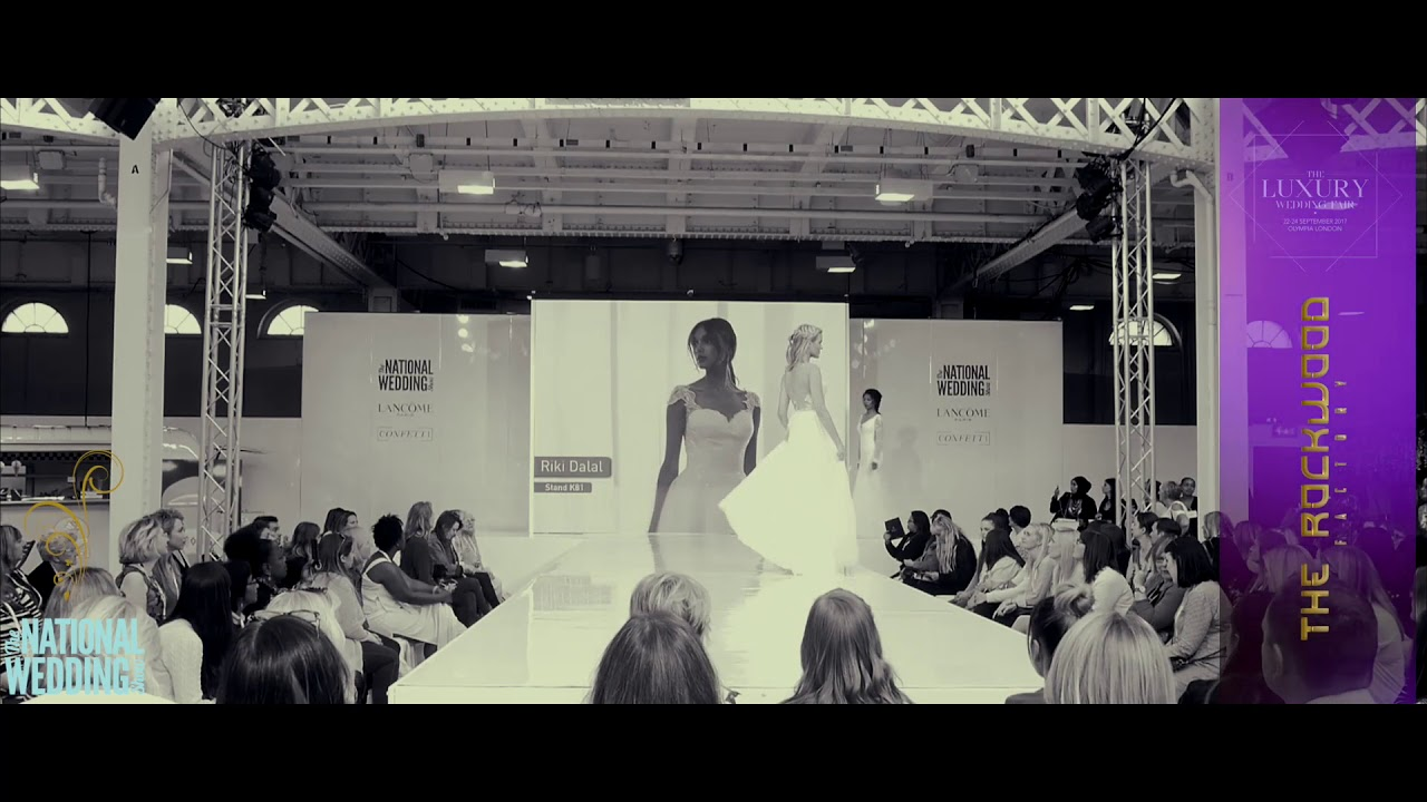 The National Wedding Show 2017 Main Catwalk