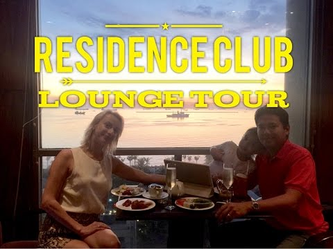 New World Manila Bay Residence Club Lounge Living Room Tour Overview by HourPhilippines.com