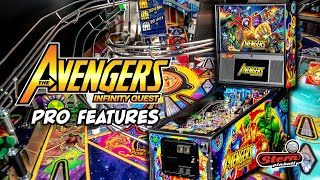Avengers: Infinity Quest Pinball - Pro Model Game Features