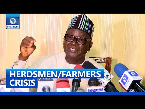 [FULL VIDEO] Armed Herdsmen: We Must Have Policies To Prevent Foreigners From Illegal Entry - Ortom