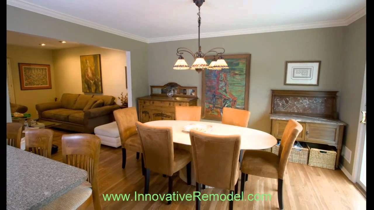 Split level kitchen remodel - YouTube