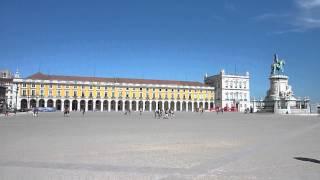 Portugal, Lisbon, Praca do Comercio