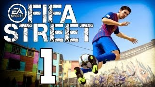 Let´s Play Fifa Street 4 / 2012 Gameplay Deutsch - Part 1