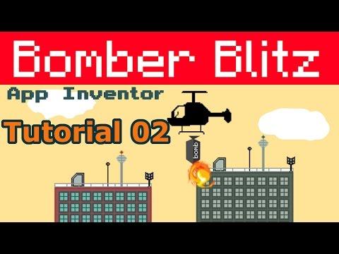 App Inventor Bomber blitz | helicopter bomber tutorial p02