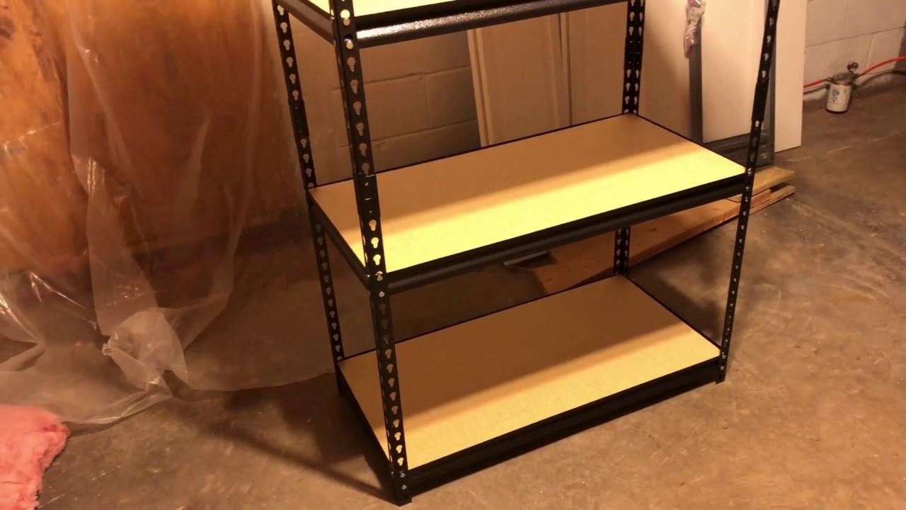 muscle rack ur361860pb4p sv silver vein steel storage rack shelves 04 2018