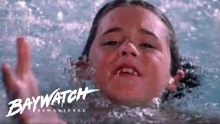 Mitch Does His Best to Save TWO Children On Baywatch but IS IT TOO LATE?! Baywatch Rremastered