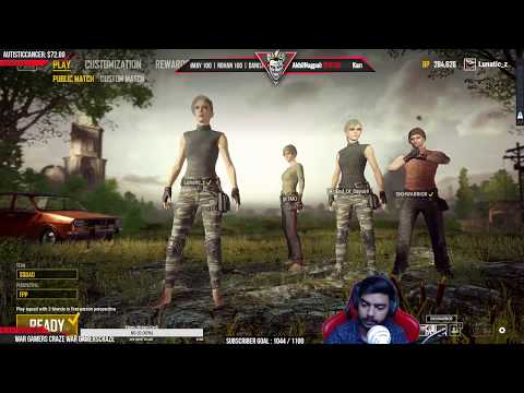 IDK why I only play PUBG a lot | 50x Souls on Twitch | #Road2Affiliate