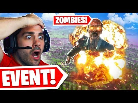 The Zombies Live Event on Warzone is STARTING! 😨
