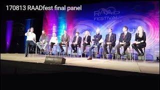 Video 170813 RAADfest final panel download MP3, 3GP, MP4, WEBM, AVI, FLV Juli 2018