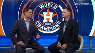 astros manager aj hinch talk about the world series title run in 2017