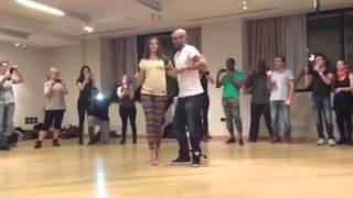 Видео: Albir Rojas & Anusha SEMBA, Kizomba Milano Festival KIZMI 2013. Семба Албир