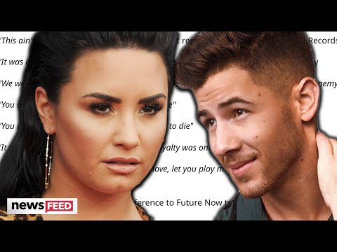 Demi Lovato SHADES Nick Jonas In Leaked Song!