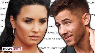 Download Lagu Demi Lovato SHADES Nick Jonas In Leaked Song MP3