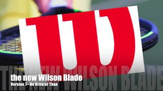 Wilson Blade v7.
