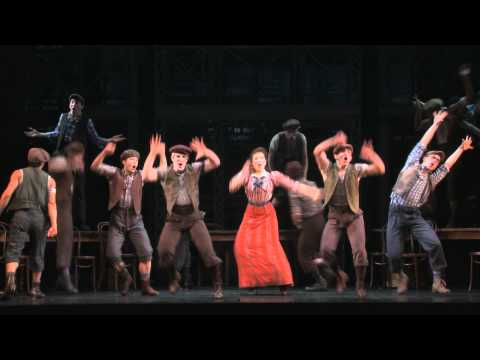 "Disney's NEWSIES on Broadway - ""King of New York"""