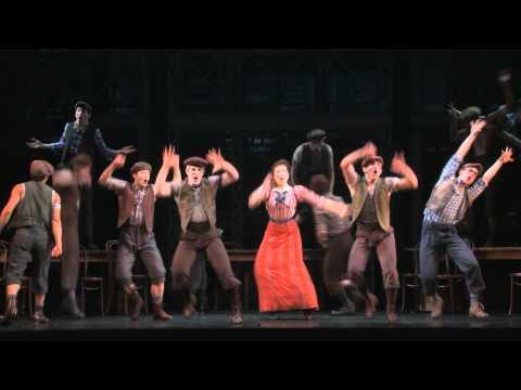 Disney's NEWSIES on Broadway -