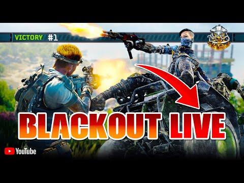 BLACKOUT LIVE!!! (20,000+ Kills | 10+ K/D | 530+ Wins) Call Of Duty: Black Ops 4 Battle Royale thumbnail