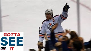 GOTTA SEE IT: McDavid Dangles Rielly And Hutchinson, Scores Unbelievable Goal