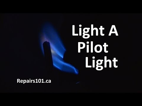 Light A Pilot Light - How To In 3 Minutes & 10 Easy Steps