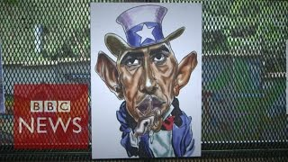 Kenyans, cartoons and satirising Obama - BBC News
