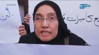 صبايا الخير - وقفة صامتة لطلاب  جامعة المنوفية وأهالي الضحايا للمطالبة بحق الضحايا