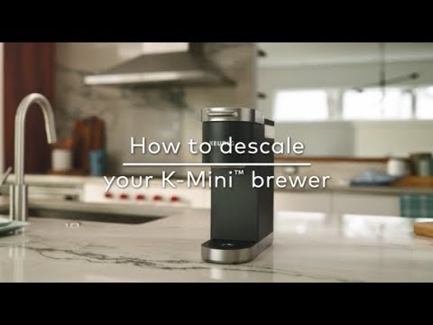 How to Descale Your Keurig® K-Mini Coffee Maker