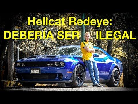 Hellcat Redeye: debería ser ILEGAL