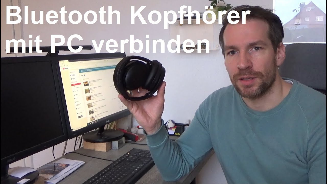 bluetooth kopfh rer mit pc verbinden koppeln windows 10 youtube. Black Bedroom Furniture Sets. Home Design Ideas