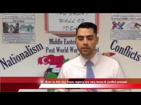 History Comes Alive: Arab-Israeli Conflict