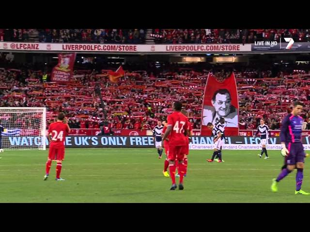 Liverpool F.C. & 95,000 Australian fans sing Youll Never Walk Alone FULL Dolby MCG July 24,2013