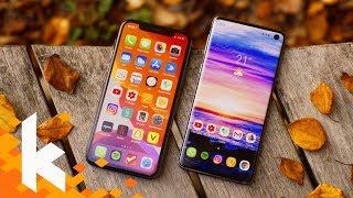 iPhone 11 Pro vs Galaxy S10 - Was ist besser?