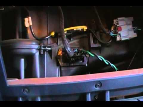 2005 Freightliner M2 Wiring Diagram How To Change The Blower Motor Resistor 2002 Dodge