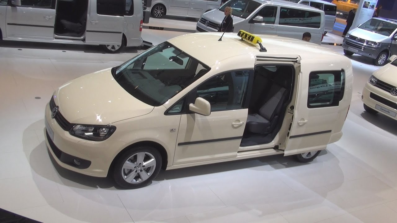 volkswagen caddy maxi taxi exterior and interior in 3d youtube. Black Bedroom Furniture Sets. Home Design Ideas